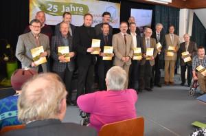 """Bild 26.04.2016 – Chronik """"25 Jahre Tanner Diakonie"""" vorgestellt!"""