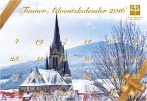 Bild 24.12.2016 – Tanner Adventskalender – Gewinnnummern!