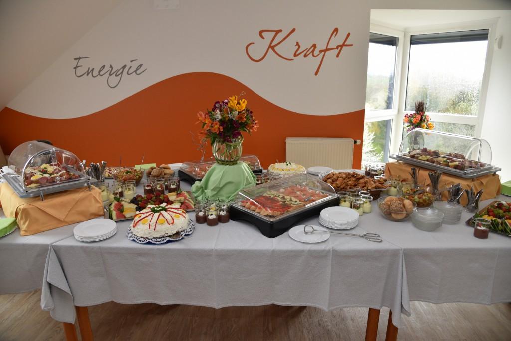 Die Gäste konnten sich auf ein leckeres Buffet freuen!