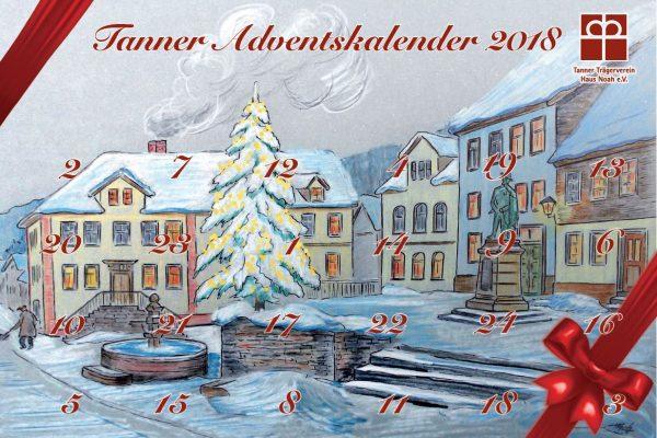 Bild 24. Dezember 2018 – Gewinnnummern Tanner Adventskalender