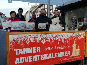 Bild 01.11.2018 Helfen und Gewinnen mit dem Tanner Adventskalender