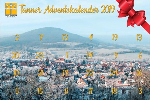 Bild 24.12.2019 – Gewinnnummern Tanner Adventskalender