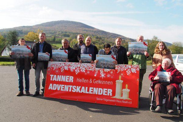 Bild 01.11.2019 Helfen und Gewinnen mit dem Tanner Adventskalender