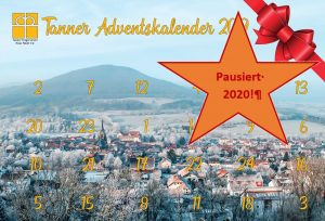 Bild 30.10.2020 – Tanner Adventskalender pausiert in 2020